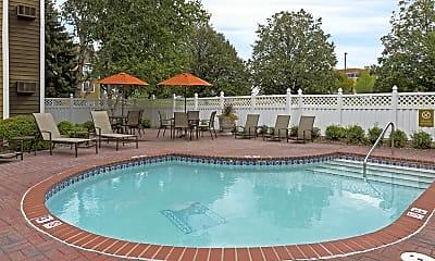 Pool, Mallard Creek, 2