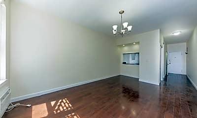 Living Room, 525 E 81st St 4C, 1