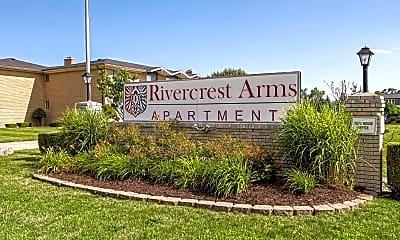 Building, Rivercrest Arms Apartments, 0