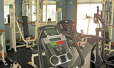 Fitness Weight Room, Lenox Park Luxury Apartment Community, 2