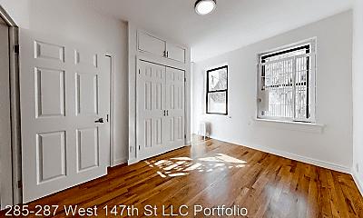 Bedroom, 287 W 147th St, 1