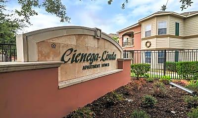 Community Signage, Cienega-Linda Apartments, 2