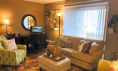Living Room, Frontier Apartments, 0