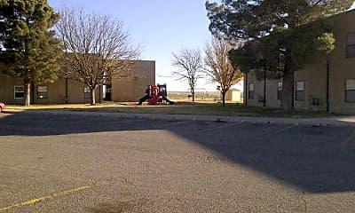 Playground, Pecos Apartments, 0