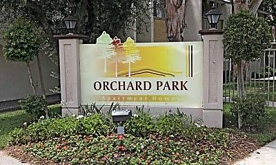 Community Signage, Orchard Park, 1