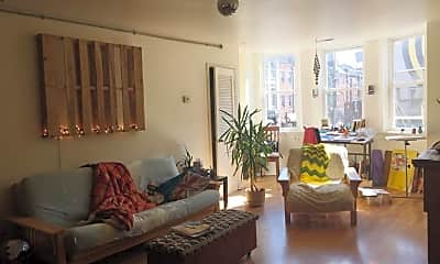 Living Room, 303 South St, 1