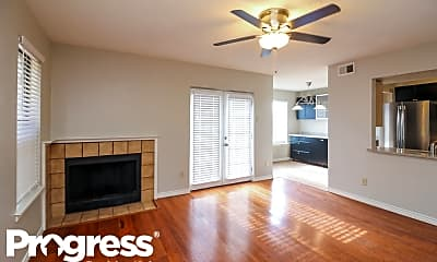 Living Room, 402 Dawn Drive, 1