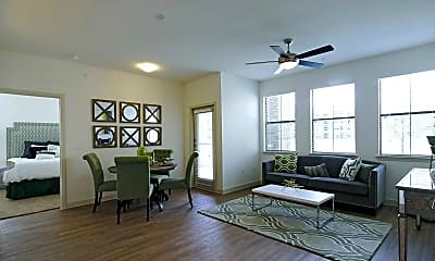 Living Room, The Rise Apartments, 1