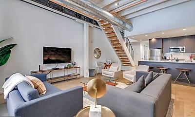 Living Room, 204 S Delhi St 1, 0