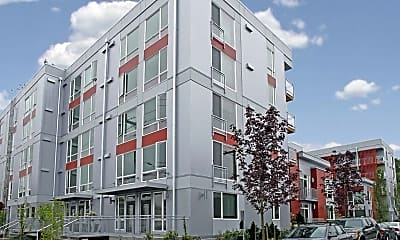 Building, Greenhouse Apartments, 1