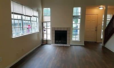 Living Room, 7527 Oak Chase, 1