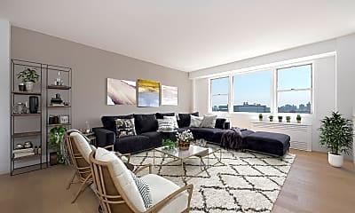 Living Room, 60 W 142nd St LS, 0