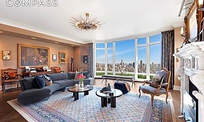 Living Room, 15 Central Park West 37-A, 1