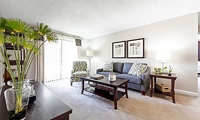 Living Room, Princeton Park Apartments, 0