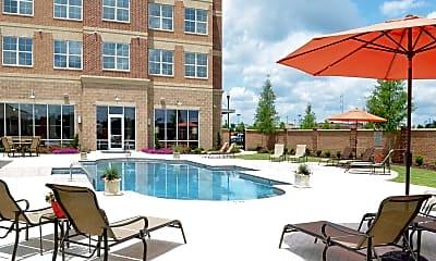 Pool, Lofts at Bass, 0