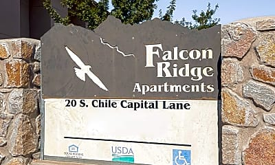Community Signage, Falcon Ridge, 2