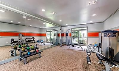Fitness Weight Room, Hamptons at East Cobb, 1