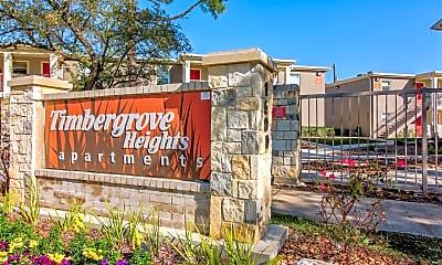 Community Signage, Timbergrove Apartments, 2