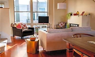 Living Room, 12587 Larchmere Blvd W-4, 2