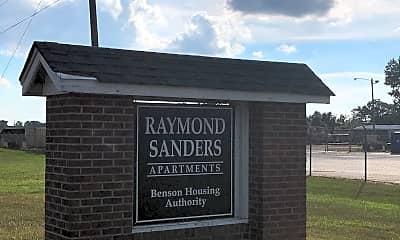 Raymond Sanders Apartments, 1