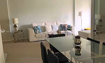 Living Room, 17021 N Bay Rd 221, 1