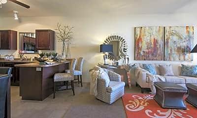 Living Room, The Greens at Oklahoma City, 0