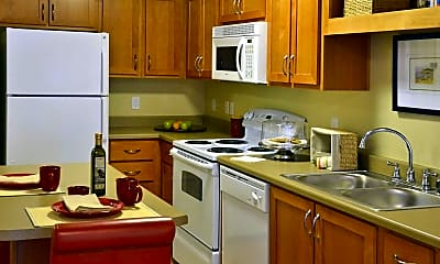 Kitchen, Affinity At Mill Road Apartments, 1
