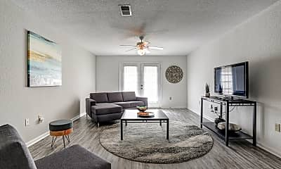 Living Room, The Pointe at Raiders Campus, 1