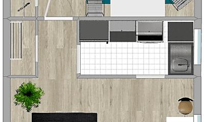 Living Room, 2729 4th St S, 1