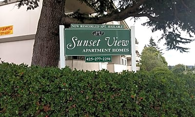 Sunset View Apartments, 1