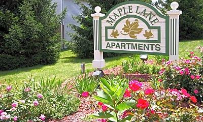 Community Signage, Maple Lane, 0