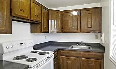 Kitchen, Woodbridge, 1