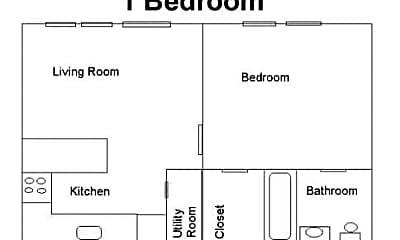 Building, Oakwood Place Apartments, 1