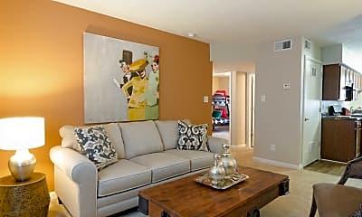 Living Room, Bedford Park Apartments, 1