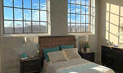 Bedroom, Bellevue Mill Apartments, 1