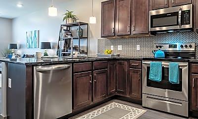 Kitchen, Vicina - Modern Urban Flats, 1