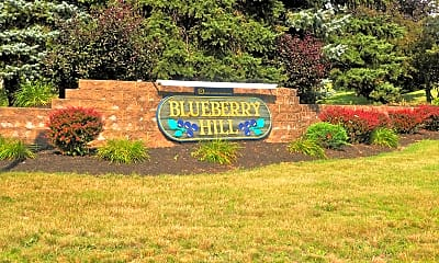 Community Signage, Blueberry Hill Apartments, 2