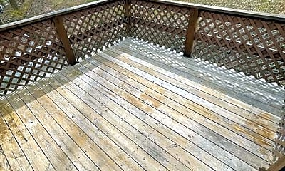 Patio / Deck, 120 E Garden Rd, 2