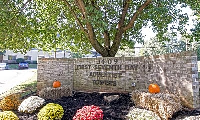 Community Signage, Huntsville Adventist Apartments, 0