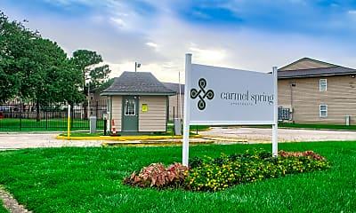 Community Signage, Carmel Spring, 1