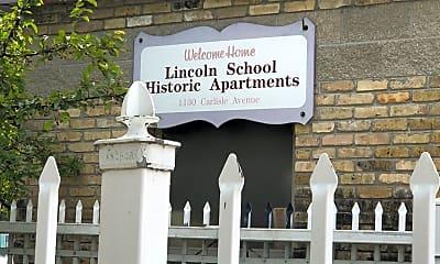 Lincoln School, 1
