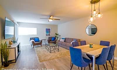 Dining Room, 202 Oceanside Blvd, 1