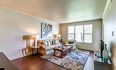 Living Room, Luxe at Union Hill, 1