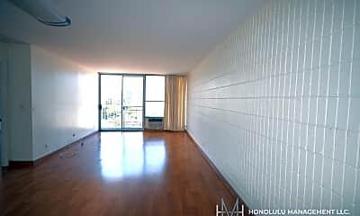 Living Room, 1326 Ke?eaumoku St, 1