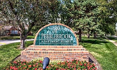 Community Signage, Pebblebrook Apartments, 2