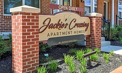 Community Signage, Jackie's Crossing, 2