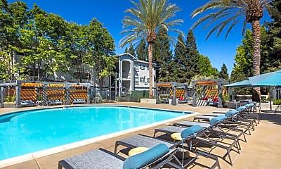 Pool, Monterey Grove Apartments, 1
