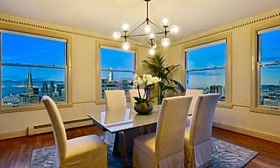 Dining Room, 1250 Jones St, 1