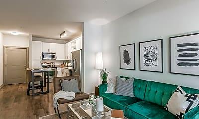 Living Room, 1600 Demonbreun St, 1