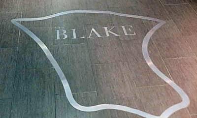 Bathroom, The Blake Apartments, 2